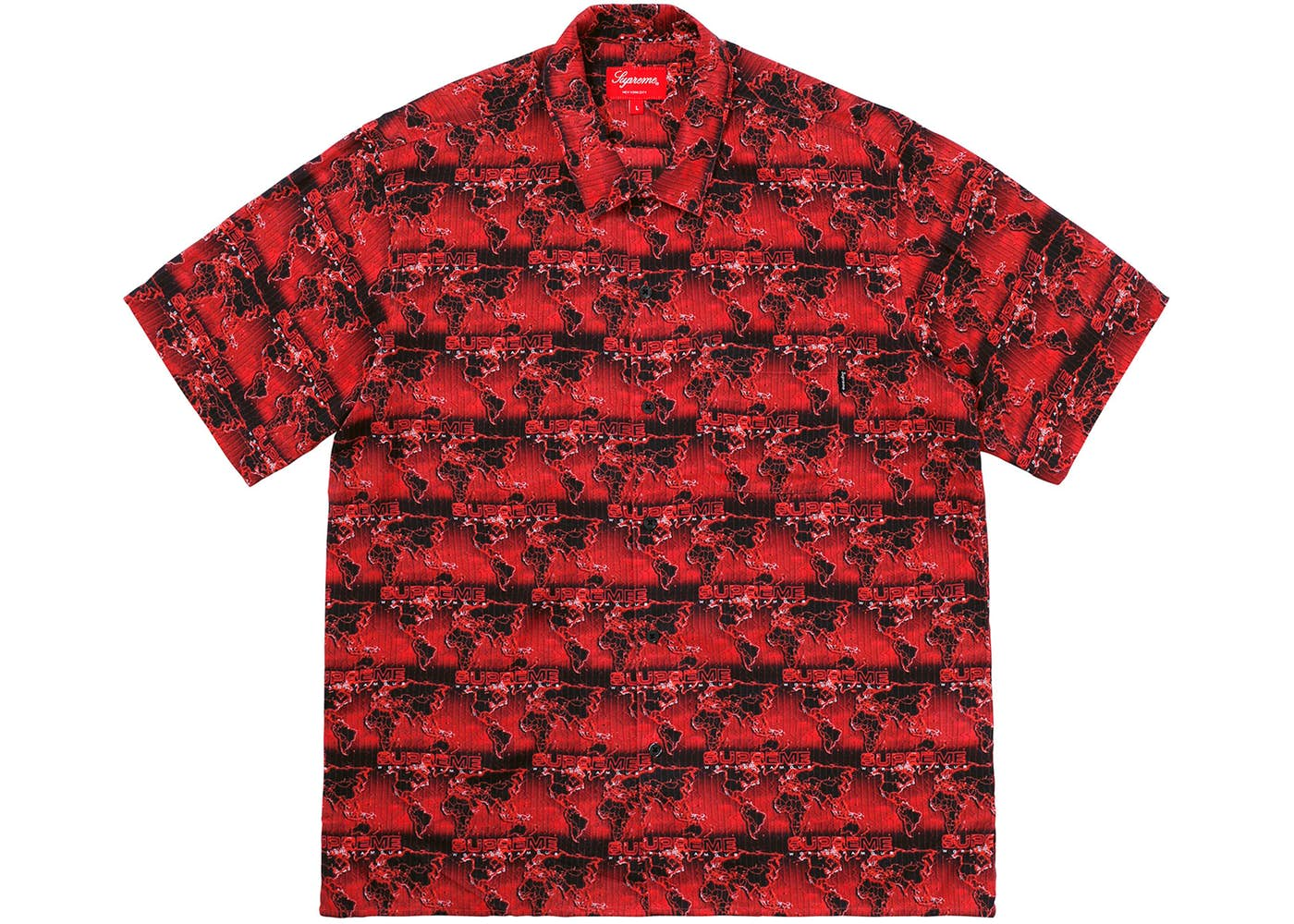 Supreme world famous rayon shirt red springsummer 2018 supreme world famous rayon shirt red gumiabroncs Gallery
