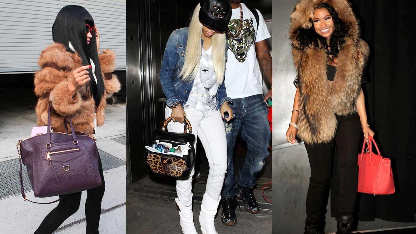 A Comprehensive Look At Nicki Minaj S Designer Bag