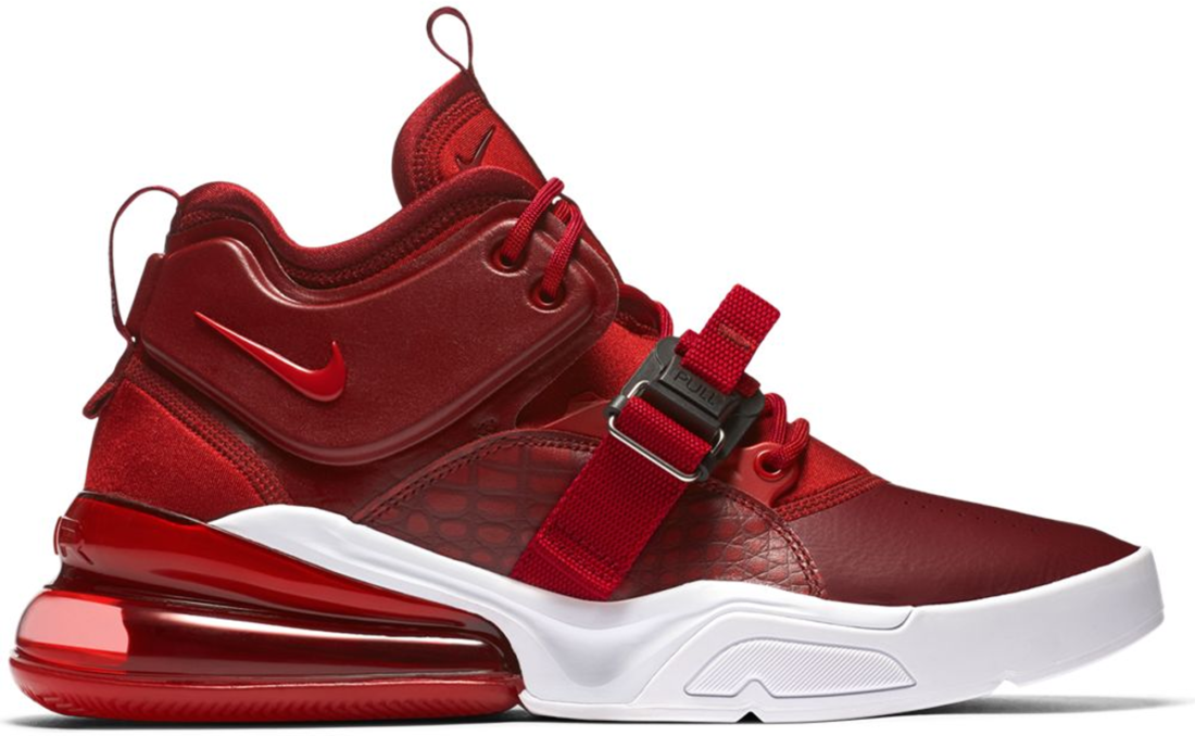 info for 62886 e5b36 Nike Air Force 270 Red Croc