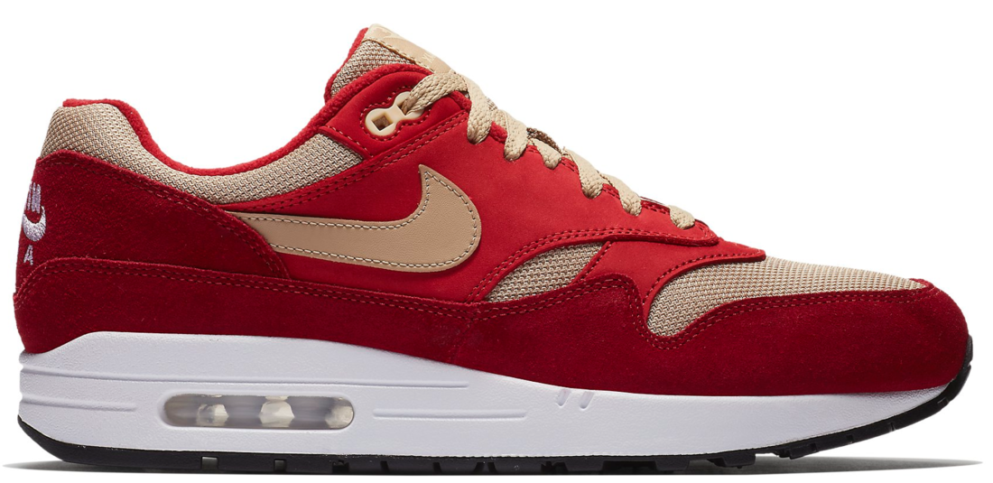 Atmos Nike Air Max 1 Curry Red