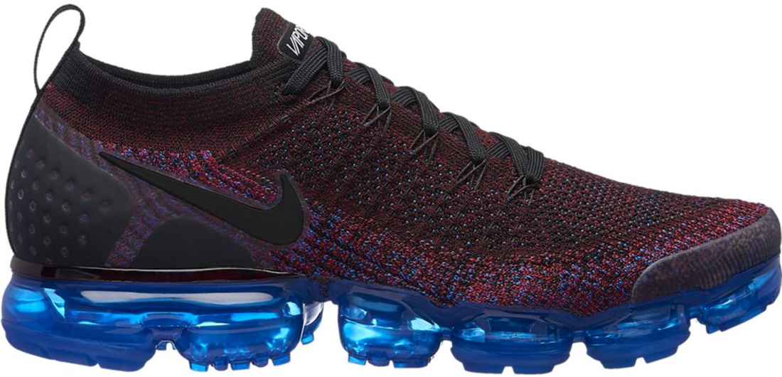 newest 1e971 8cef7 Nike Air VaporMax Flyknit 2.0 Team Red Racer Blue