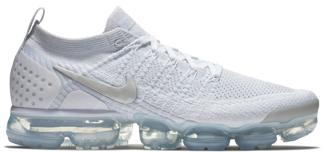 new style 21324 3eacd Nike Air VaporMax 2 White Vast Grey