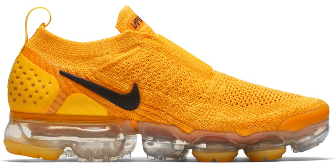 wholesale dealer c5323 20904 Women's Nike Air VaporMax Flyknit Moc 2 University Gold