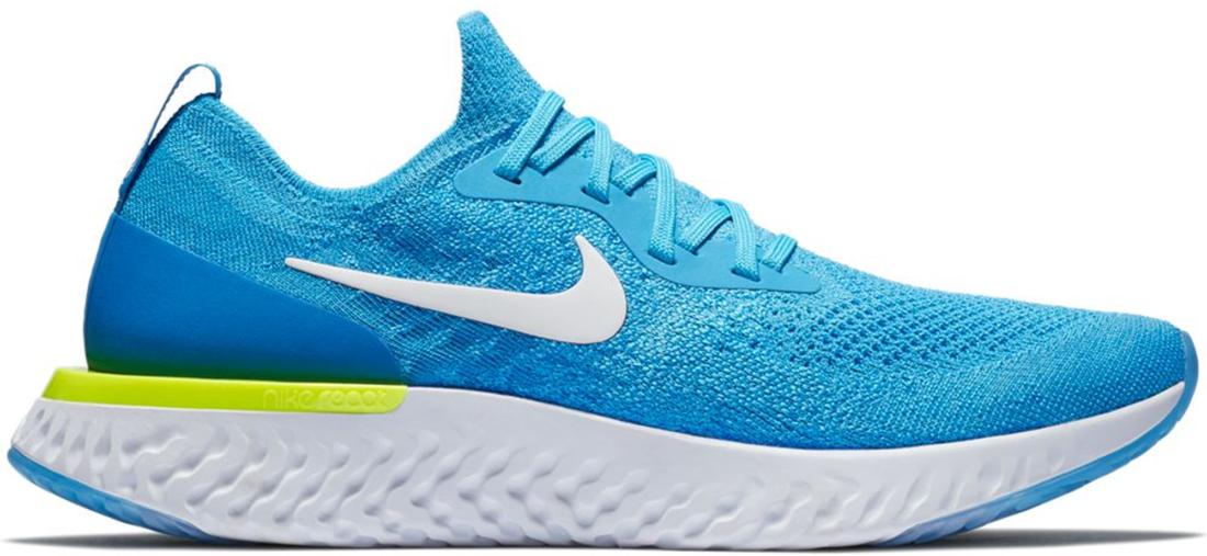 5dbb01e41c74 Nike Epic React Flyknit Volt Glow