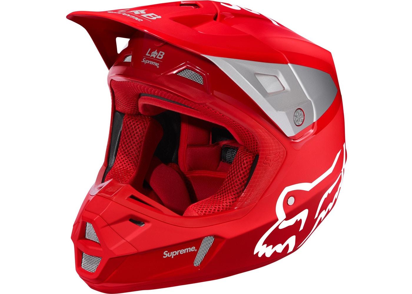 Supreme Fox Racing V2 Helmet Red Spring Summer 2018