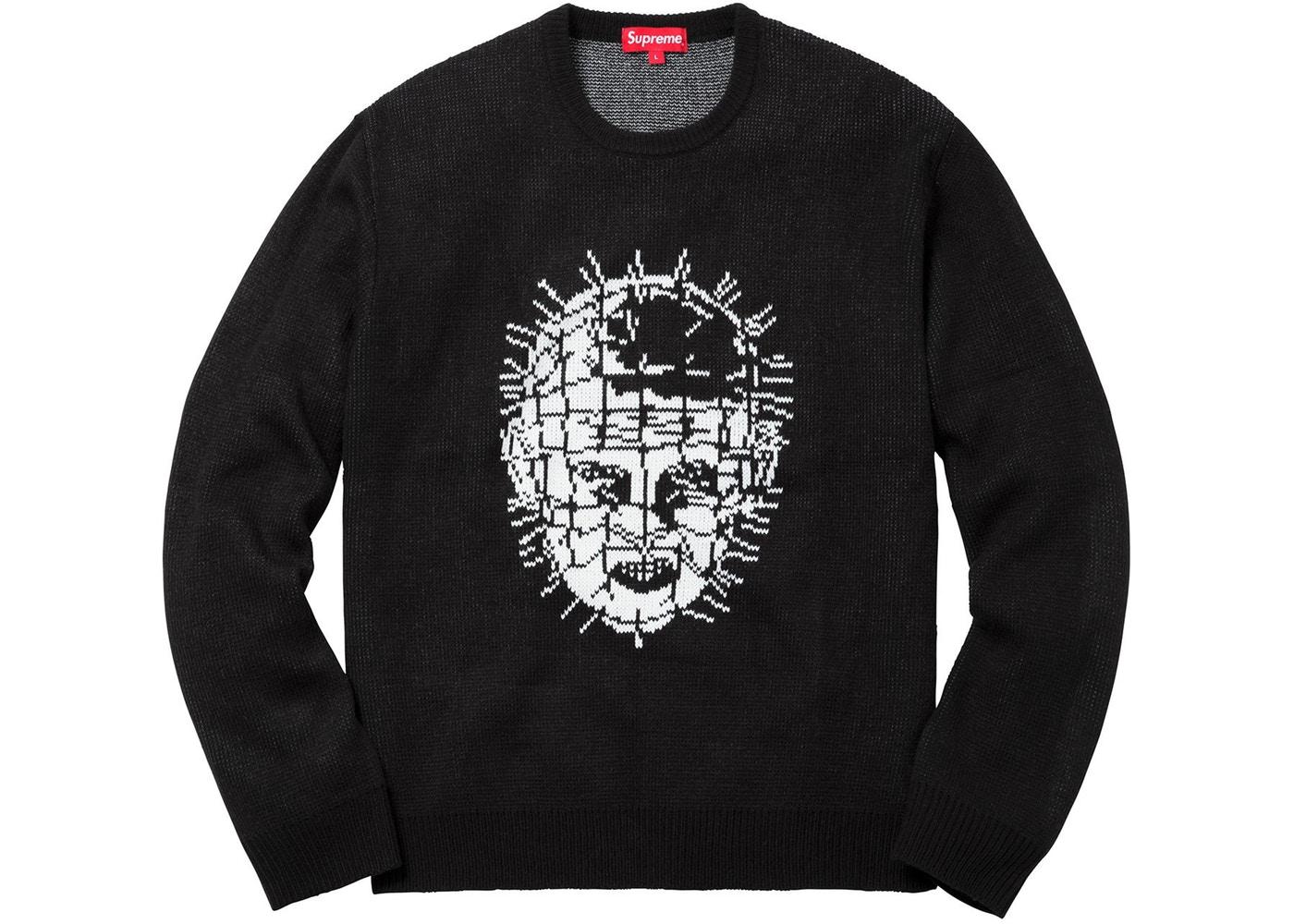 c2e98853411f Supreme Hellraiser Sweater Black Spring/Summer 2018