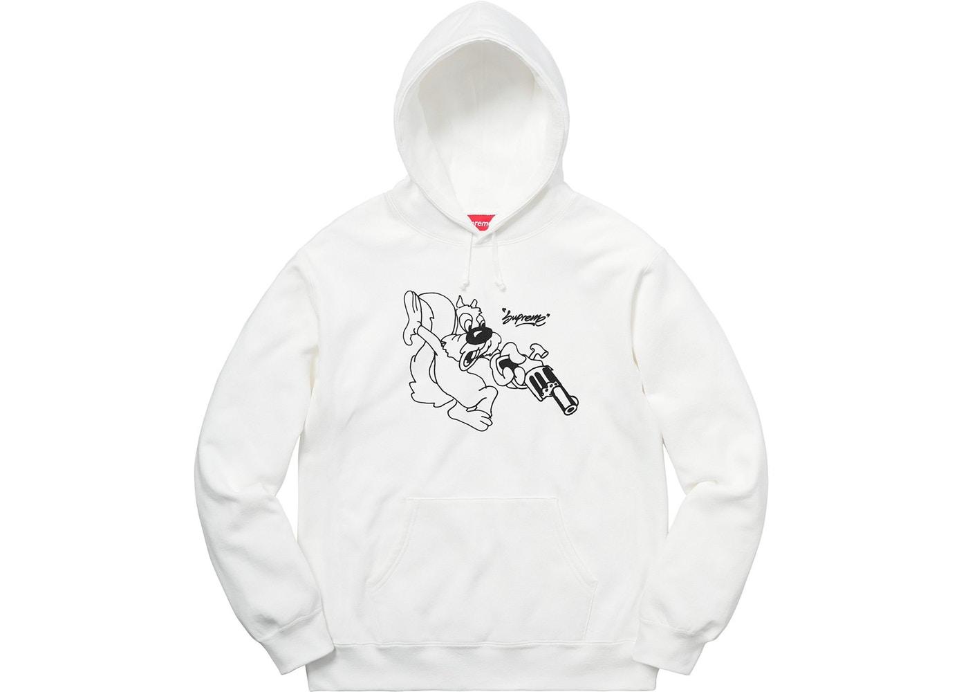 ae86eef37917 Supreme Lee Hooded Sweatshirt White Spring Summer 2018