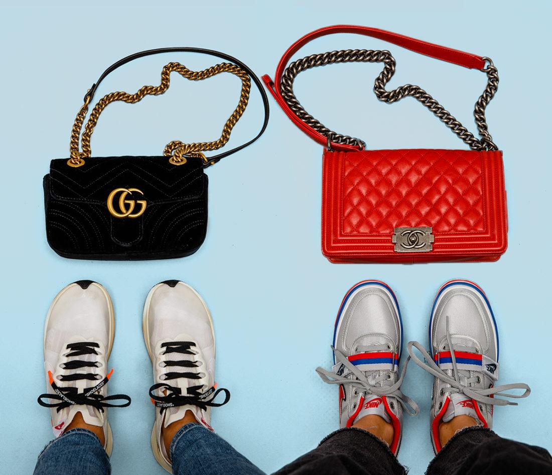 18b56169f2e0 The Ultimate Sneaker   Handbag Matchups of the Season - StockX News