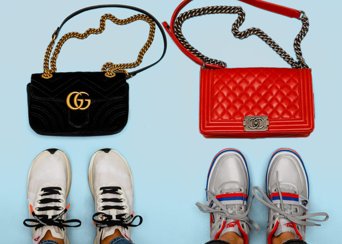 The Ultimate Sneaker & Handbag Matchups of the Season
