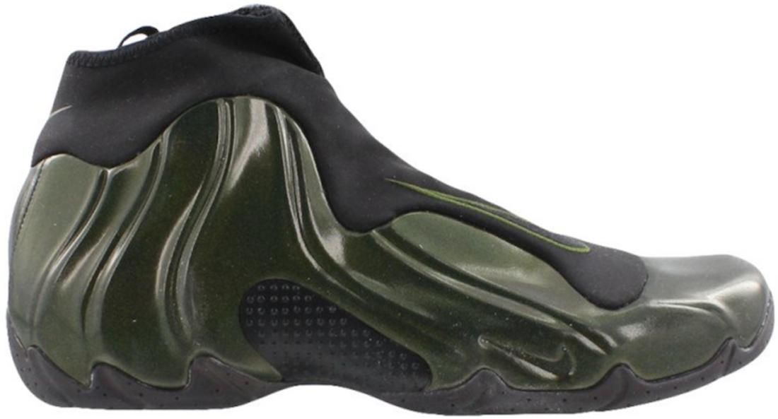 brand new 678fe 3ba10 Nike Air Flightposite Legion Green