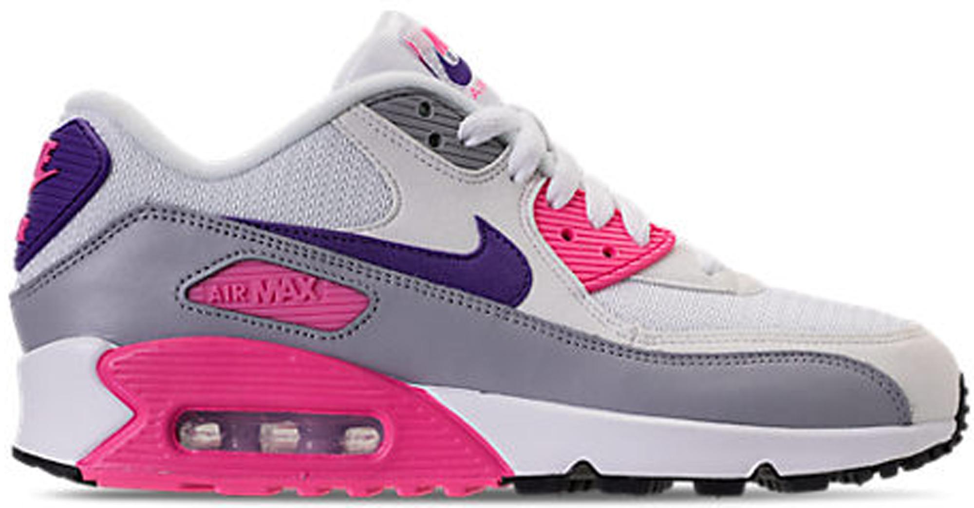 Nike Women Air Max (white court purple wolf grey laser pink)
