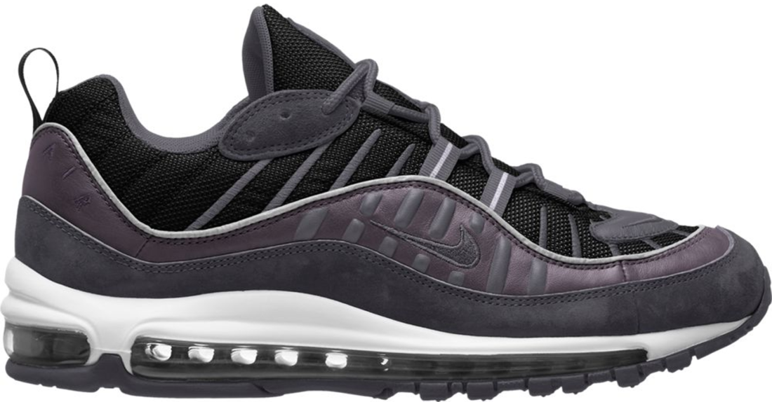 air max 98 black anthracite