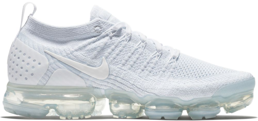 purchase cheap c7904 5f6c2 Nike Air VaporMax 2 White Pure Platinum