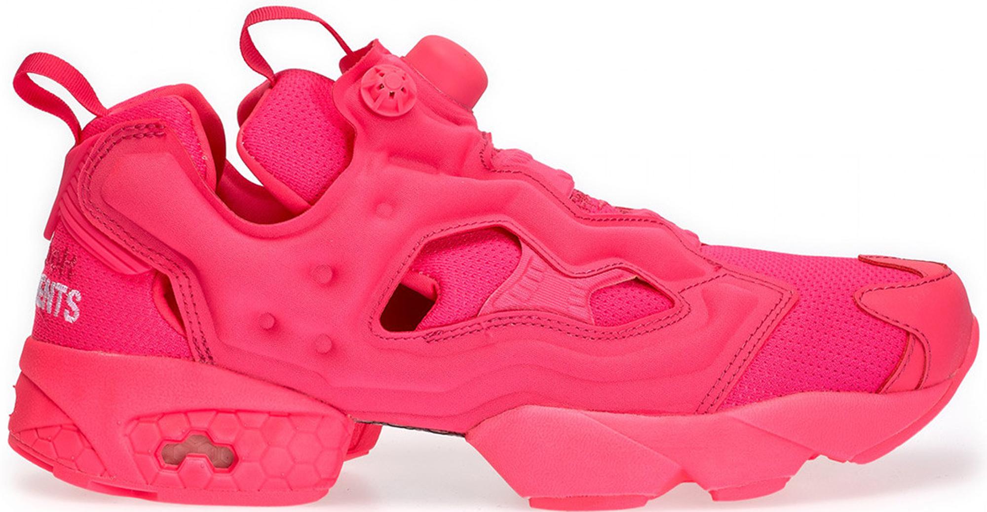 reebok insta pump pink