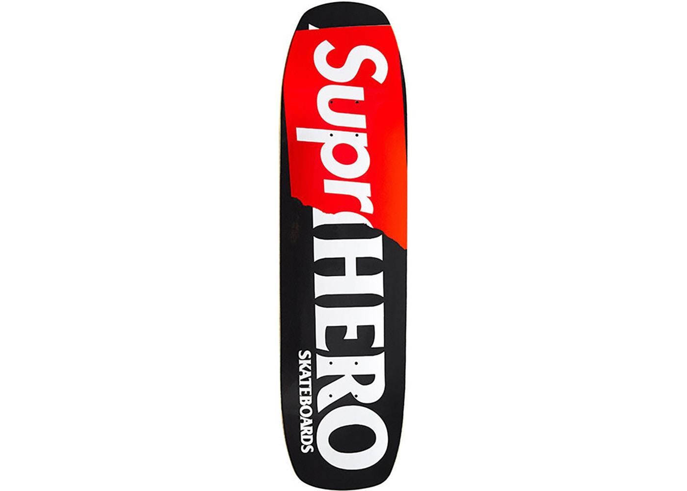 2f099ef1 Supreme Antihero Supr-Hero Skateboard Deck Black - StockX News