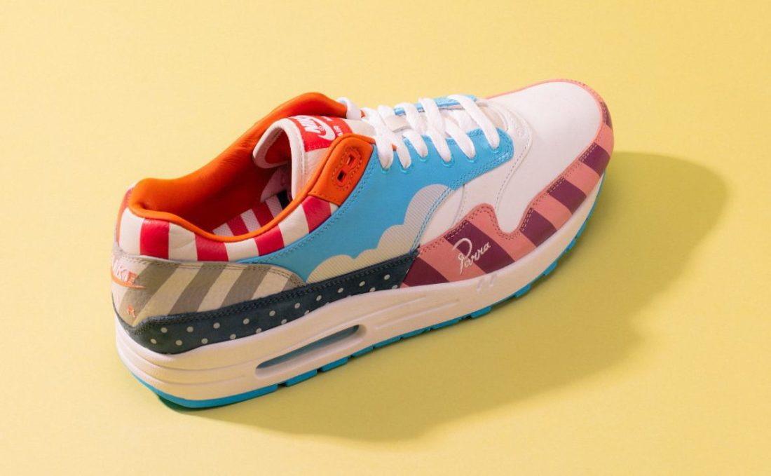 get new running shoes get online Parra x Nike Release the Dutch Pack
