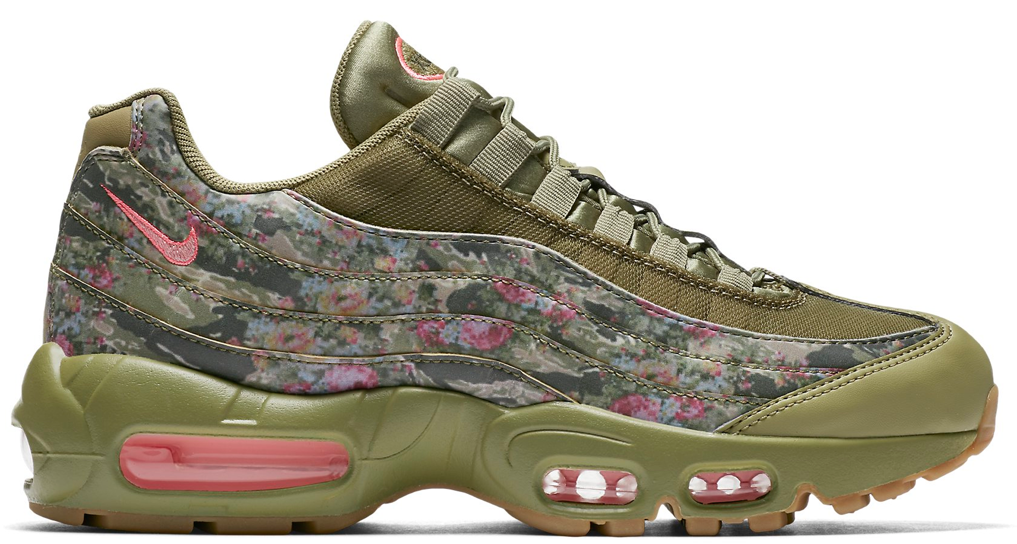 be19e7c8ff Women's Nike Air Max 95 Floral Neutral Olive