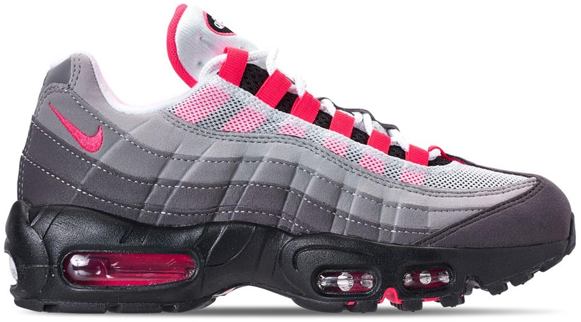 nike air max 95 pink and grey