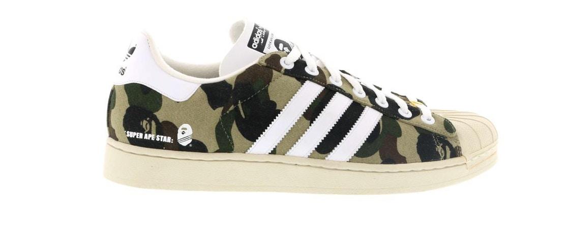 Bape x Adidas Originals Camo Apparel Collection – Footwear News