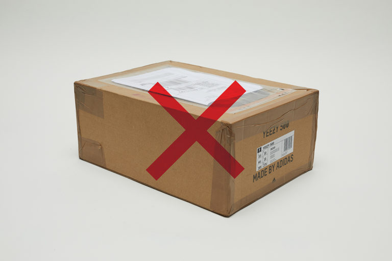 0b5c5f0dfd4 Do NOT tape the shipping label directly onto the shoebox