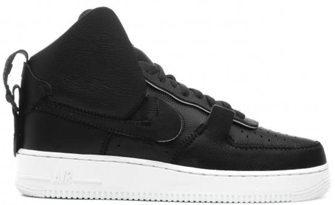 best sneakers 6b512 83b3c PSNY Nike Air Force 1 High Black