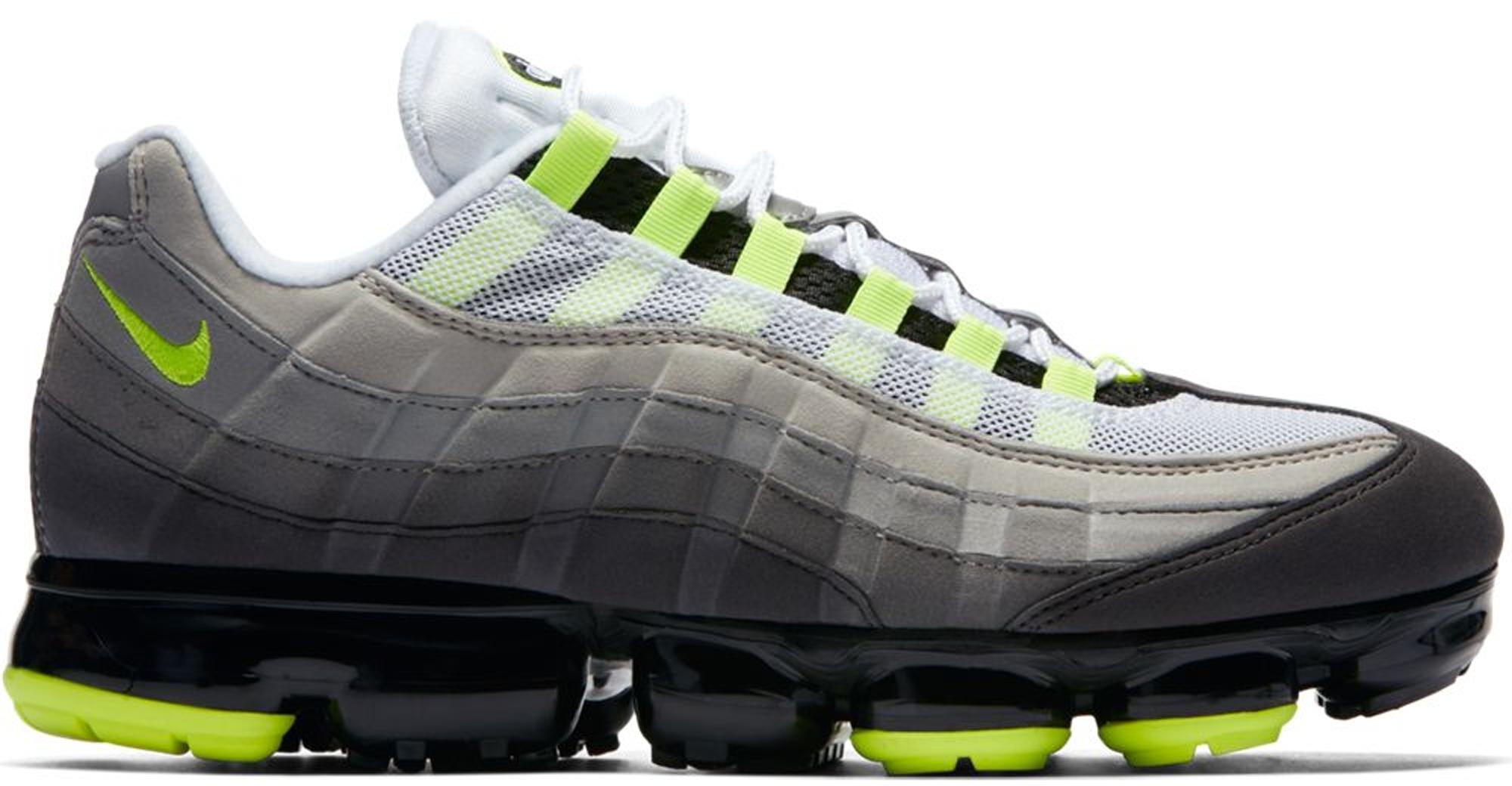 Nike Air VaporMax 95 Neon - StockX News