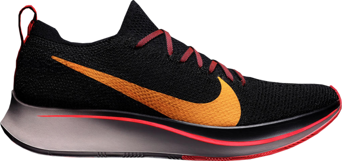 6a0def60fe7c Nike Zoom Fly Flyknit Black Flash Crimson - StockX News