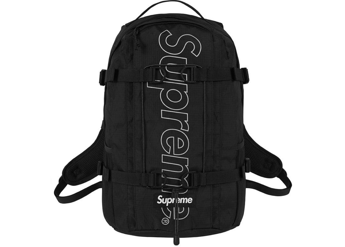 463bff10 Supreme Backpack (FW18) Black - StockX News
