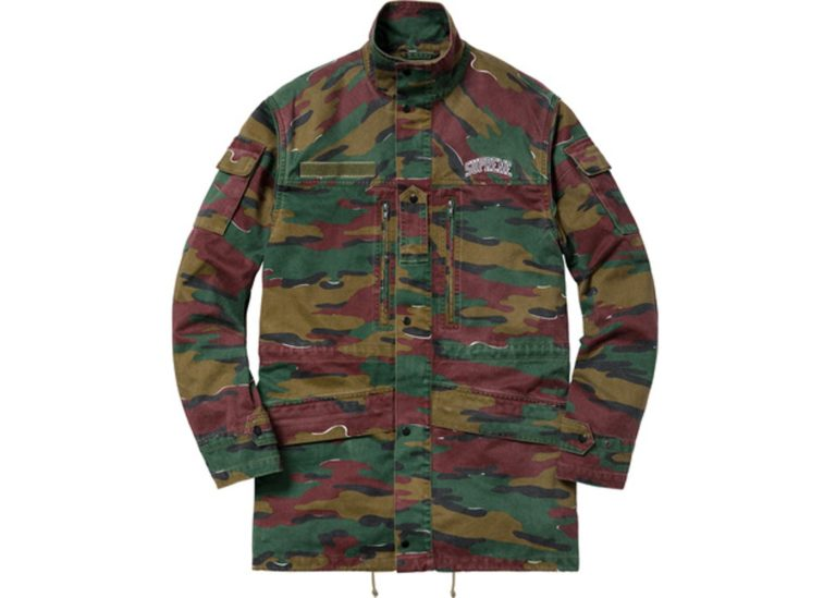 supreme infantry jacket