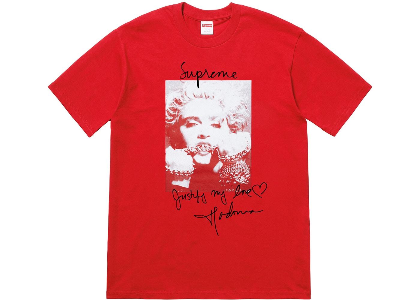 a6733ea7f Supreme Madonna Tee Red - StockX News