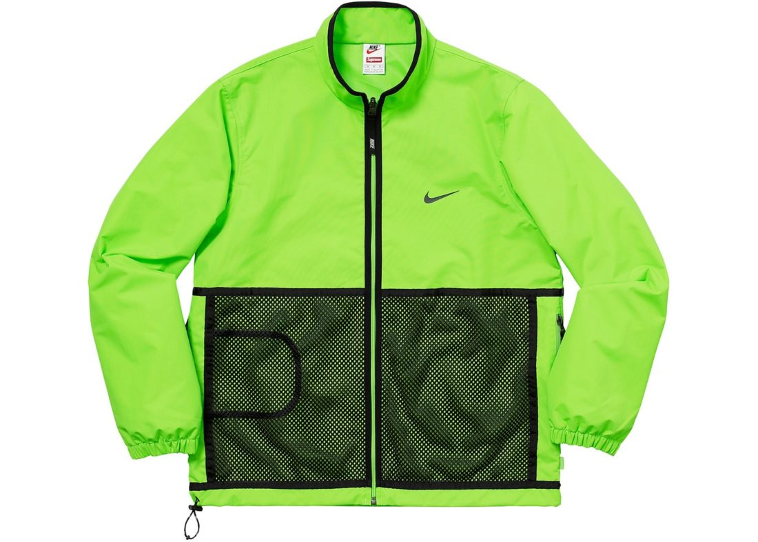 Supreme Nike Trail Running Jacket Green Fall Winter 2017 a016154aeaf4