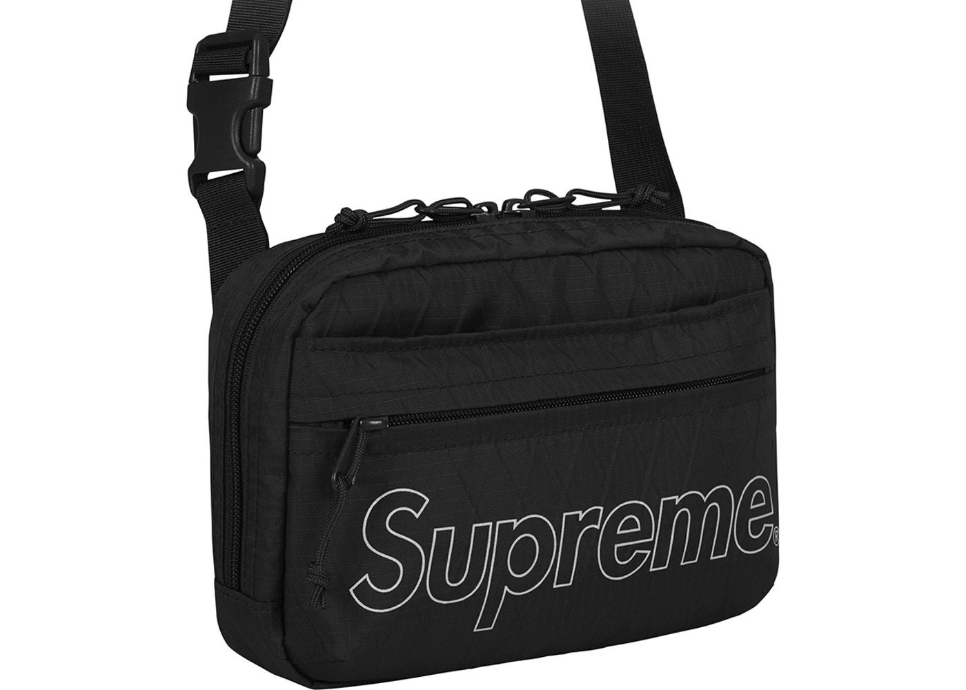 7aa67f15 Supreme Shoulder Bag (FW18) Black - StockX News
