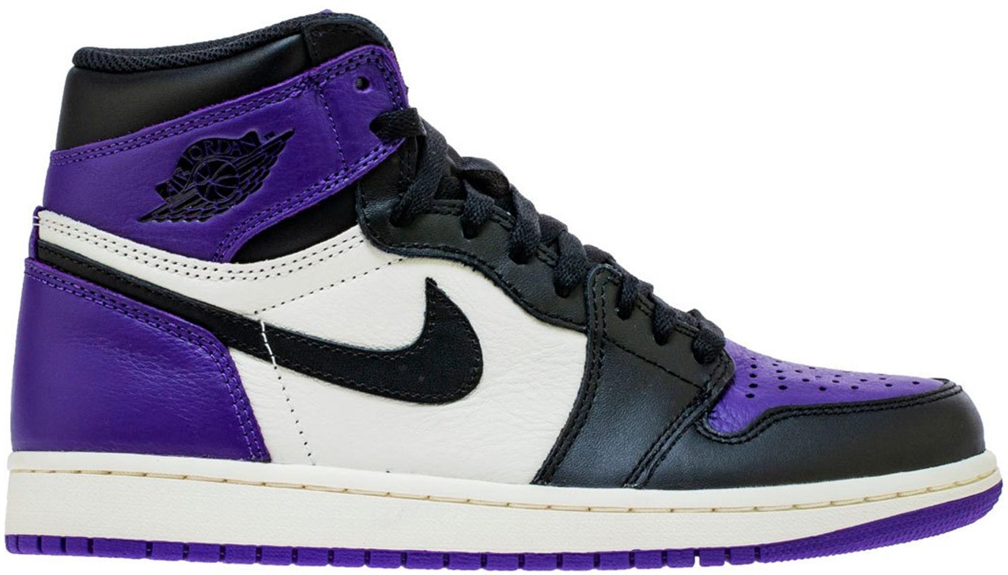 Air Jordan 1 High Court Purple
