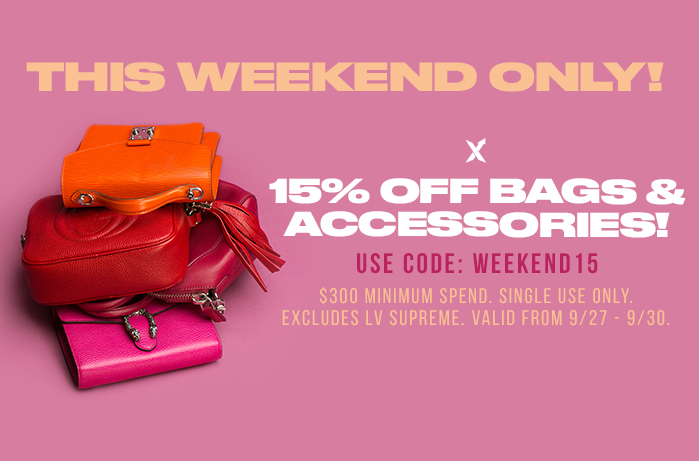 15% Off Bags and Accessories at StockX This Weekend