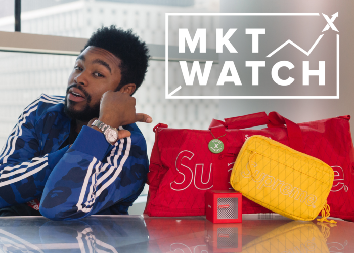 StockX MKT Watch: Nigel Sylvester's Jordan 1s Win, Supreme Bag Bounty, And Streetwear Goes Sonic