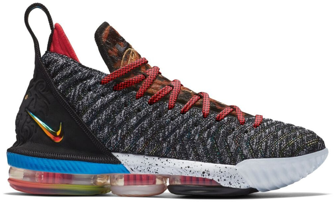 purchase cheap bcfb1 b5183 Nike LeBron 16 1 Thru 5
