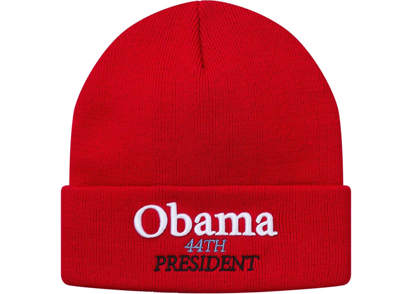 61b39dff42e49 Supreme Obama Beanie Red - StockX News