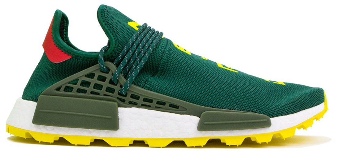 76a3b2d7a Pharrell adidas NMD Hu NERD Green Yellow - StockX News
