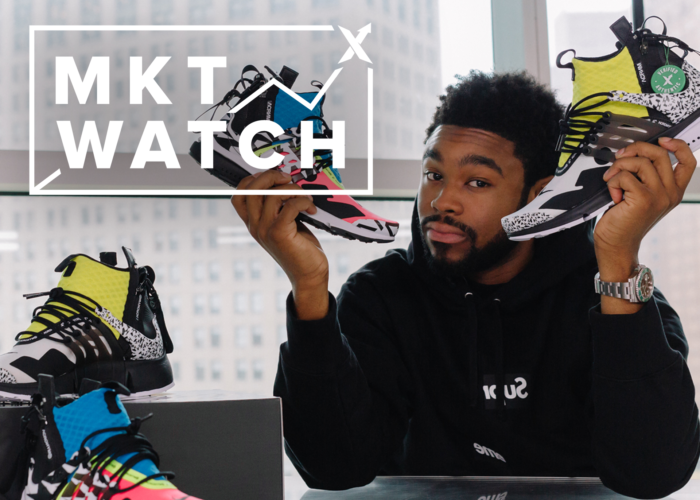 StockX MKT Watch: Supreme CDG, Yeezy Cream White Restock, and Presto Acronyms Again