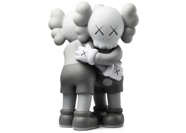 together figure gray