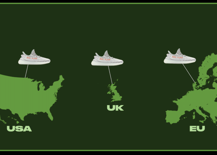 Transatlantic Alliance? Comparing Sneaker Popularity Across Countries and Continents