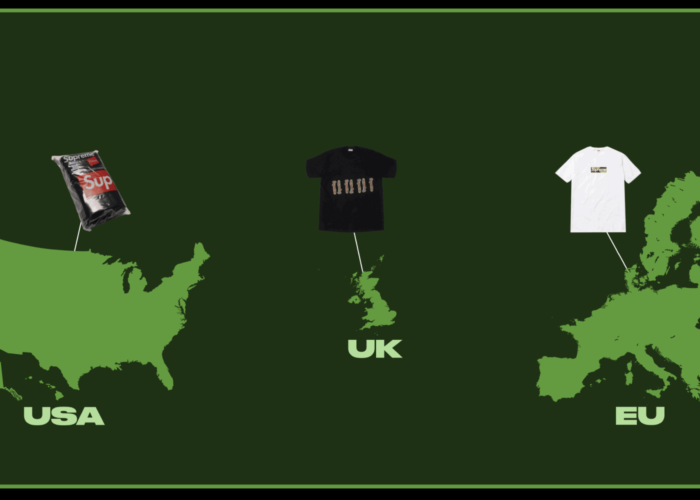 Supreme Goes Global: Comparing Streetwear Popularity Across Countries and Continents