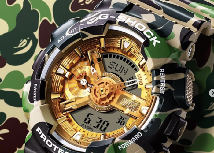 BAPE x G-SHOCK Continue Their Timeless Collabs