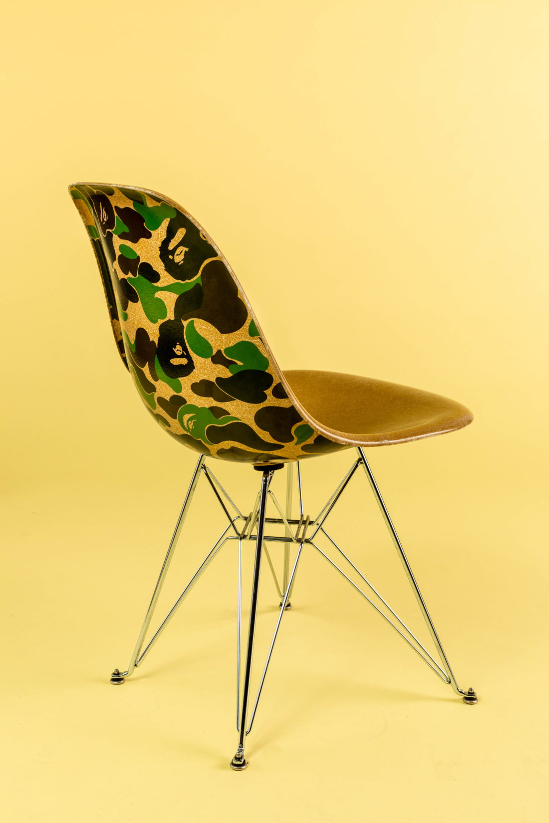 bape x modernica chair