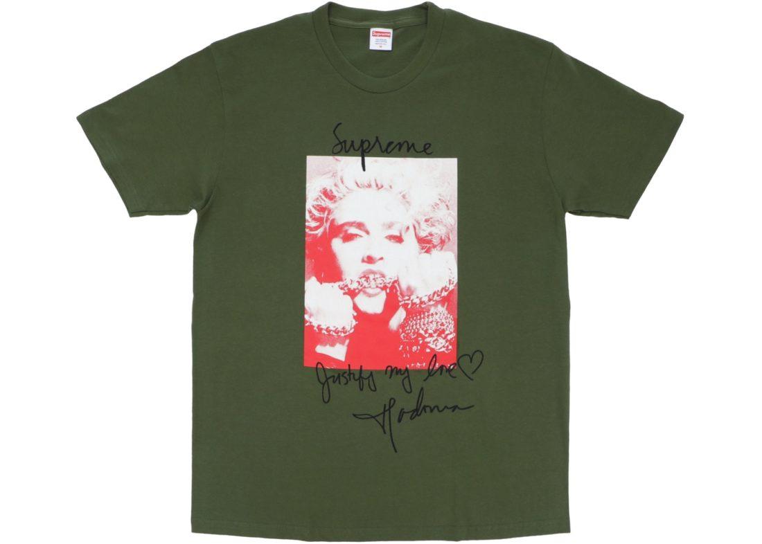 e090392c5cc0 Supreme Madonna Tee Olive - StockX News