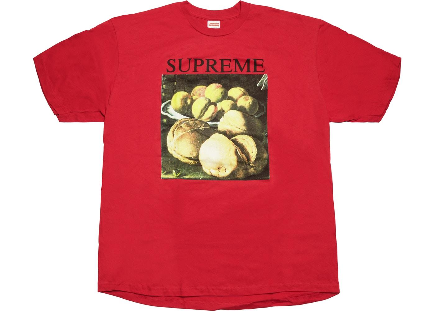 Supreme Still Life Tee Red