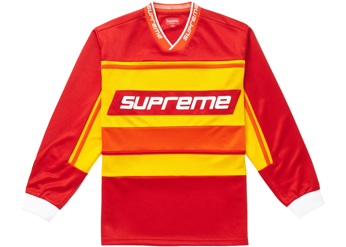 Supreme Warm Up Hockey Jersey Red - FW18 8e5b3622665