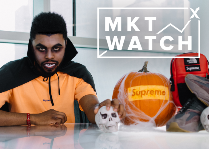 StockX MKT Watch: Haunted NMD's, Supreme's leather TNF & Mauve Yeezy boost 700