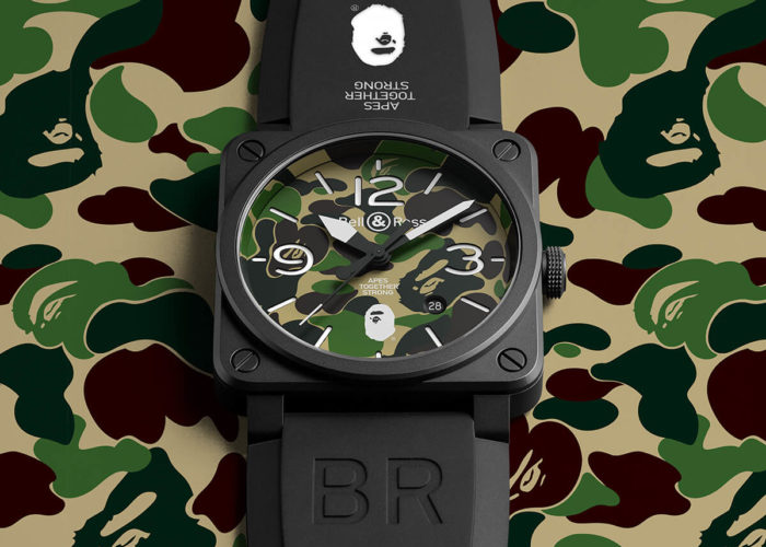 BAPE Links with Bell & Ross for their 25th Anniversary Capsule