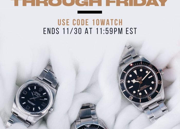 10% Off Any Watch
